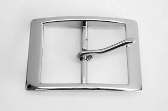 ET8941A POLISHED NICKEL BUCKLE