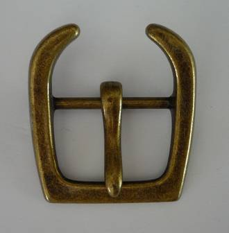 QC - 3410 ANTIQUE BRASS BUCKLE