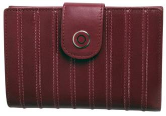 WL540 LADIES RIDGED WALLET  - ROSE