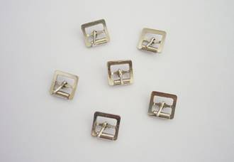 G214  Full Roller Buckle,  10mm  (10pcs./pk)