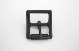 Hobble Buckle  Black,  25mm