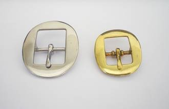 SY132 Solid Brass  and Stainless Steel Buckle