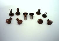No.9  Biff Rivet, Antique Copper   (100pcs. /pack)