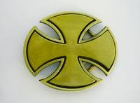 08/10B   Maltese Cross - Brushed A.B.