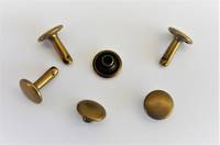 H810-10mm SOLID BRASS RIVET - AB FINISH