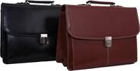 MB110 LEATHER ORGANISER BAG