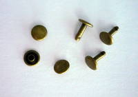 107-8mm SOLID BRASS D/C RIVET SET