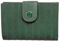 WL540 LADIES RIDGED WALLET  - SAGE
