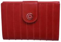 WL540 LADIES RIDGED WALLET  - ORANGE