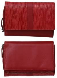 WL565 TOSCA LADIES WALLET - RED