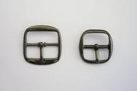 B44  Full Buckle, Black Nickel finish