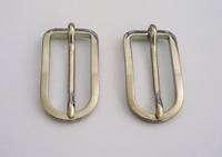 Dress Buckle, Nickel 15mm