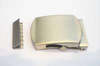 ET2151 Buckle Set  Pearl Nickel,  38mm