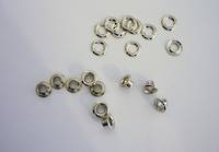 EY4 and EY4-A   Eyelet and Washer : SOLID BRASS (NICKEL PLATED)