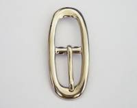 Oval Buckle Nickel, 15mm