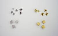 Flat square - rivet on   (100pcs. /Pack)