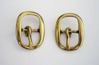 JT2195  Buckle  20mm  Solid Brass