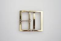 OE-4262 Double Bar Buckle  Nickel,  40mm